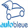 Numéro Auto Bleue