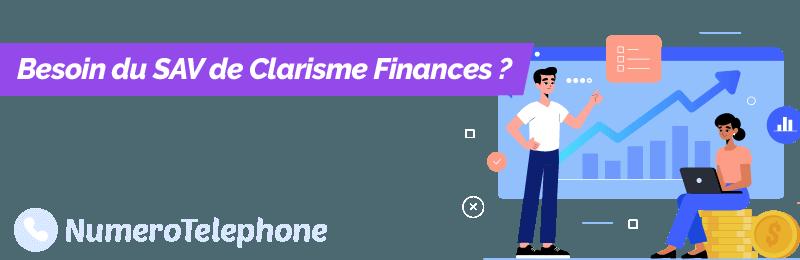 Service client Clarisme Finances