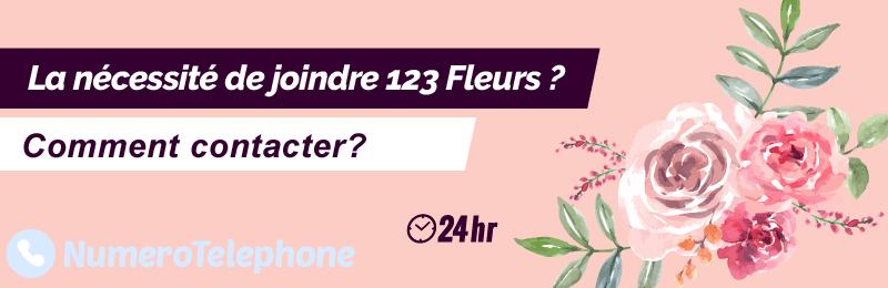 Service client 123 Fleurs