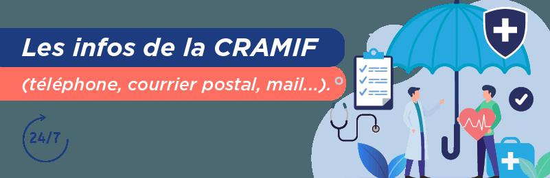 Entrer en contact avec la CRAMIF