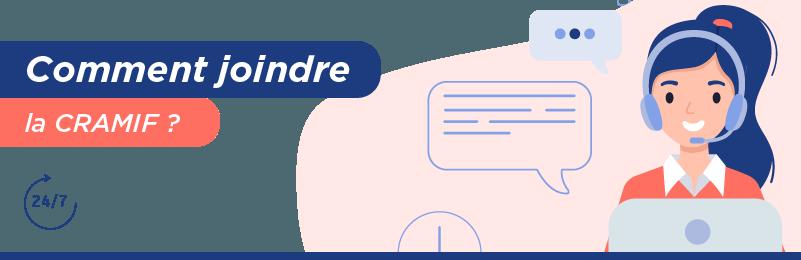 Communiquer avec la CRAMIF