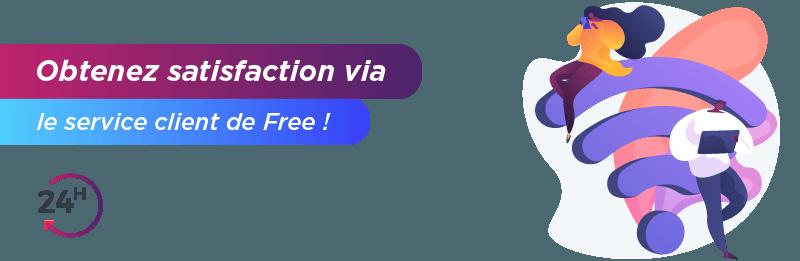 Service relation clientèle Free