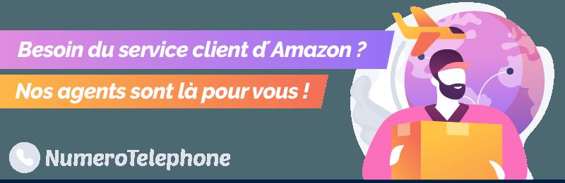 Téléphoner à Amazon