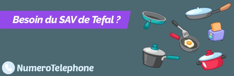Contacter service client Tefal