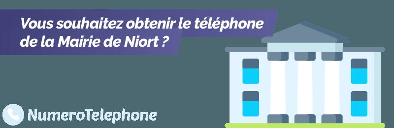Numéro de téléphone Mairie de Niort
