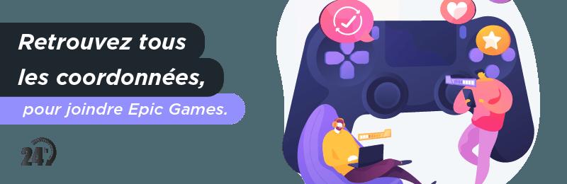 Solliciter service clientèle Epic Games