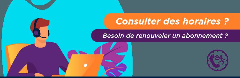 Appeler le service client Transdev